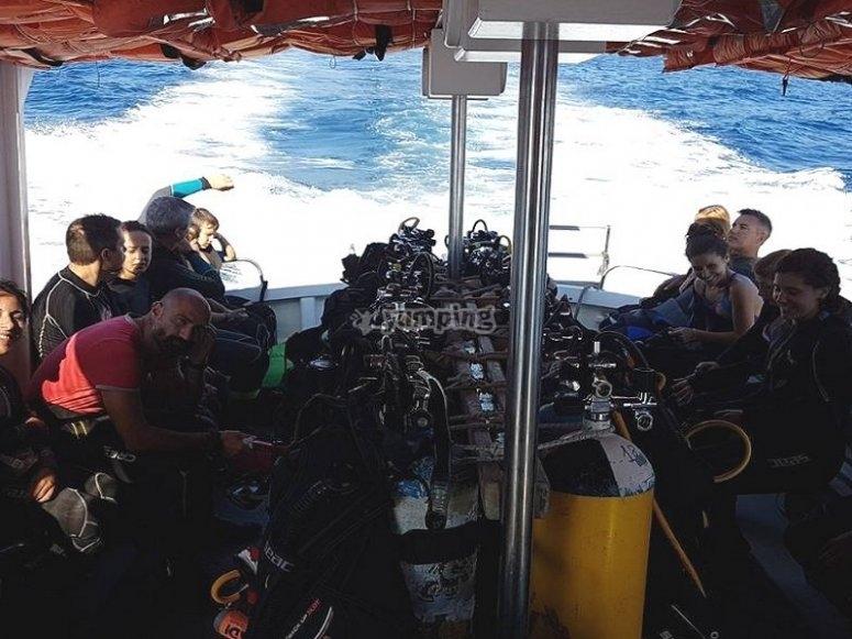 Immersioni di profondita con i corsii tecnici TecRec PADI