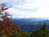 panorami e colori di montagna
