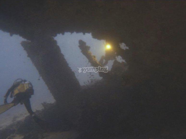 Corso immersioni profonde Deep Diver a Milano