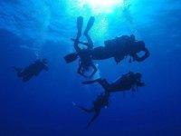 Corso per imparare le tecniche delle immersioni profonde Padi Deep Diver
