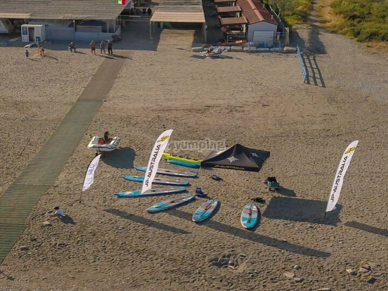 our SUP boards are waiting for you