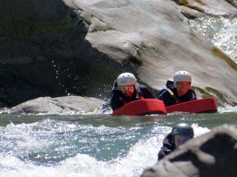Giornata in canoa lungo il fiume Sesia