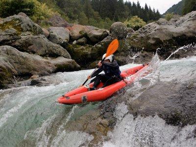Canoa 4h sul fiume Sesia Lezione individuale