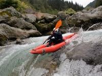 4 ore in canoa nel fiume Sesia