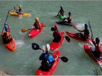 Team kayak