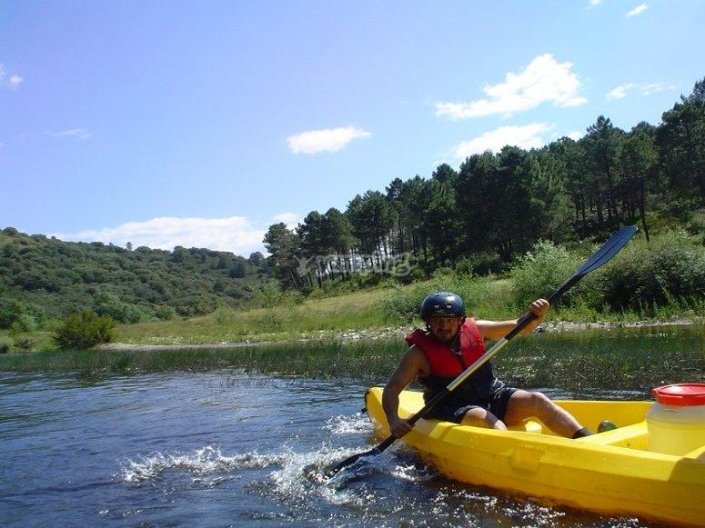 Corso di canoa di 4 ore in Val di Sesia