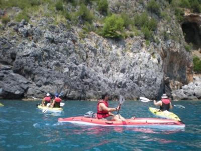 Kayaking nel parco del Cilento di 3 ore