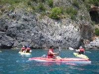 Kayaking in the Cilento park for 3 hours