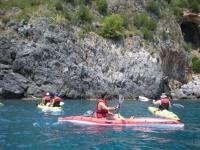 Kayak e natura