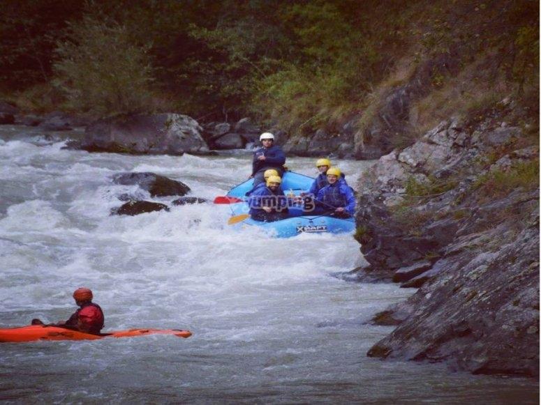 Corso di canoa in Val di Sole