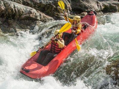 Escursione in canoa 3 ore in Valsesia Campertogno