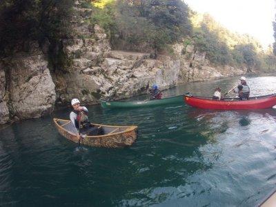Escursione in canoa 1/2gg nella Terra delle Sirene