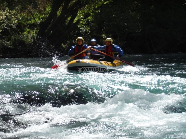 Half day canoe excursion in the nature reserve near Salerno