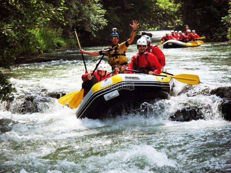 Half day excursion on the Platano river