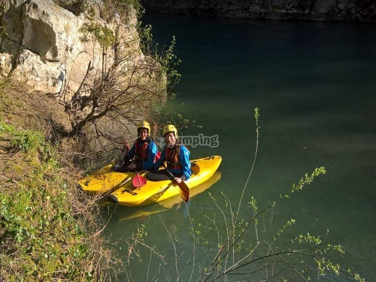 Half day canoe from Controne