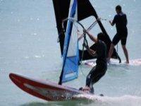 Esperti con il windsurf