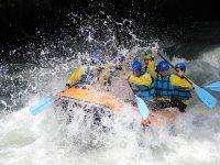 Il rafting gives emozioni uniche