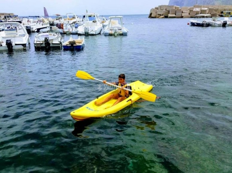 parcours de canoë pour enfants