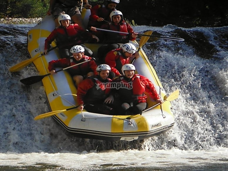 Excursion and Rafting in the Cilento natural park