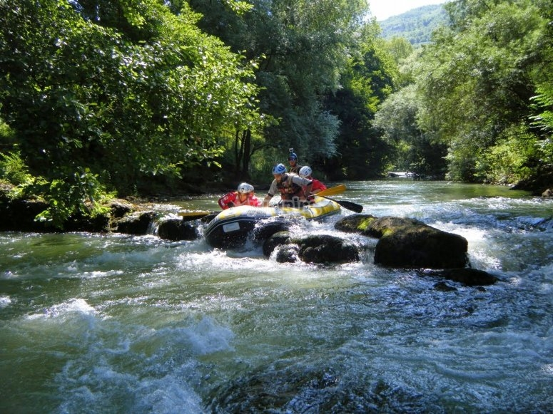 Rafting with environmental guide in Cilento