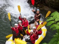 Rafting in the Cilento Park for 3 hours