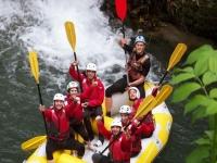 Rafting di 3 ore nel Parco del Cilento