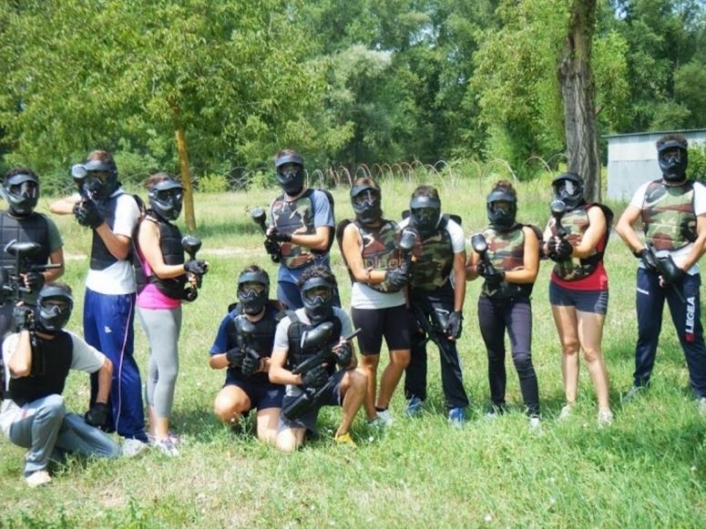 Paintball in gruppo nel parco Nazionale del Cilento