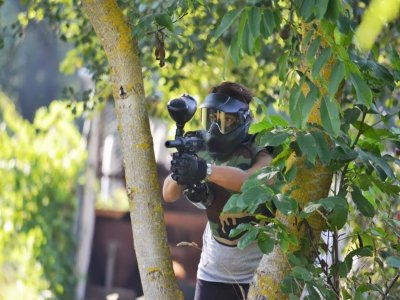 Paintball game in the Cilento Park 200 shots