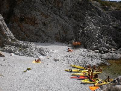 Mezza giornata in canoa in Costiera Amalfitana