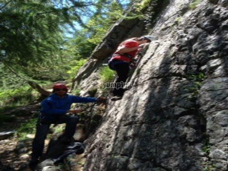 Scuola di arrampicata