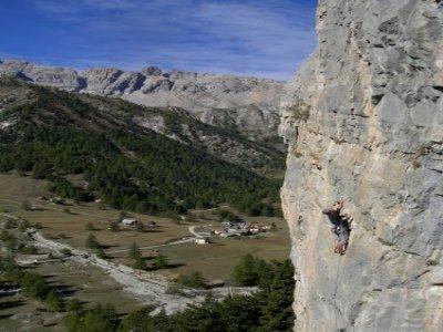 Scuola di roccia a Bardonecchia