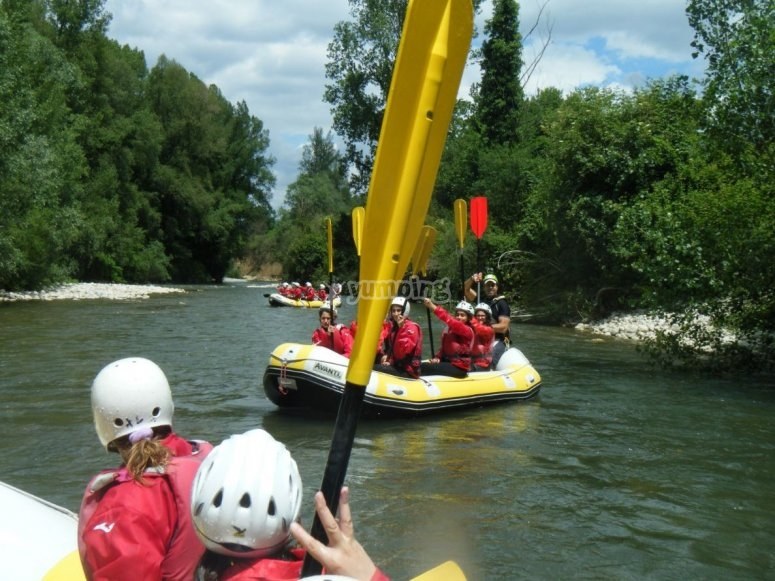 Group excursion on the Sele river