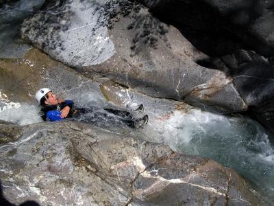 Canyoning Rio Sessi-Caprie (Piemonte)