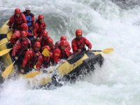 Rafting on the Lao river