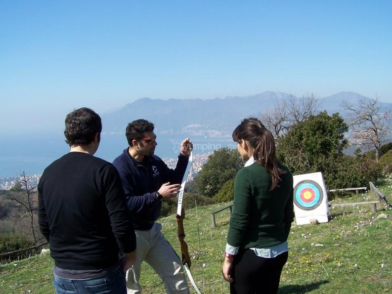 Escursione e tiro con l arco vicino Salerno