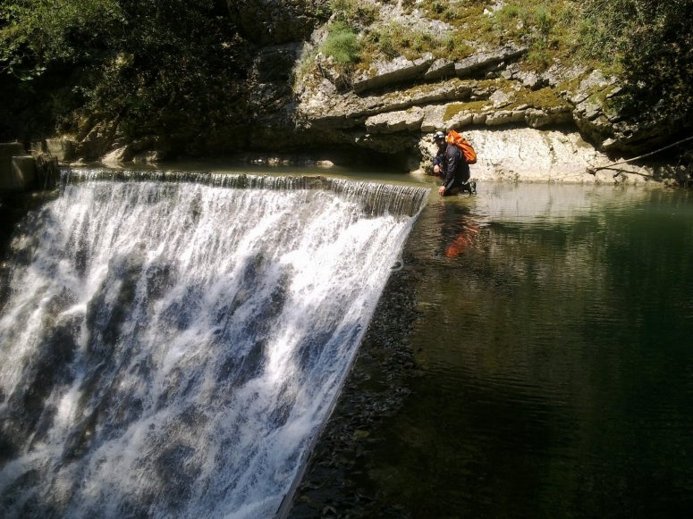 Le cascate naturali