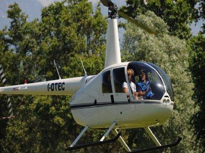 Volo in elicottero da 20 minuti su Busano