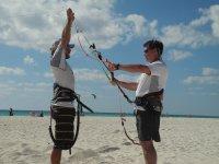 Montiamo il kite