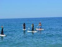 Prime lezioni di puddle surf