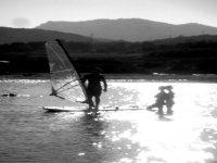 Windsurfing in La Maddalena