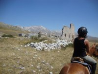 On horseback in Abruzzo