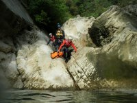 canyoning in the Cilento