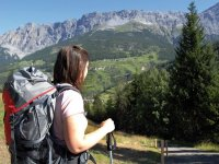 Trekking among the valleys