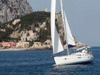 Finale Ligure sailboat