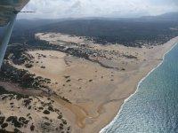 The Costa Verde dall'alto