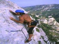 Climbing a Cava Grande