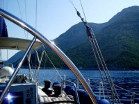 La vista dalla barca