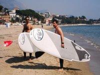 Esperti di paddle surf