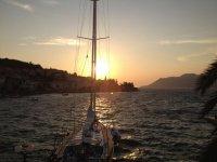 Agosto in barca a vela