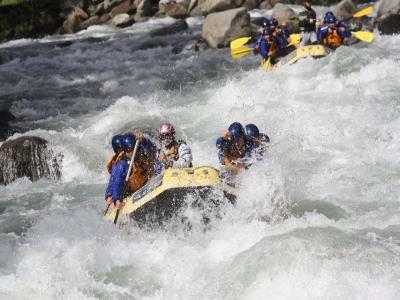 Rafting di 2 ore e 30 sul fiume Noce, Dimaro